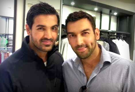 John Abraham and Mubashir Malik (a British broadcaster & writer)
