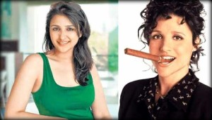 Parineeti Chopra and Julia Louis-Dreyfus