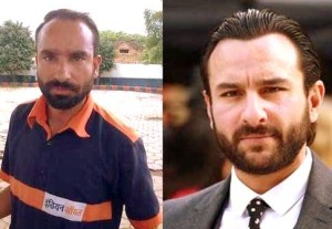 Saif Ali Khan and Gas Station attendant