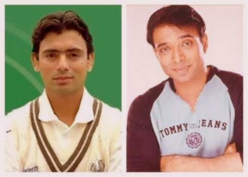 Uday Chopra and Saqlain Mushtaq