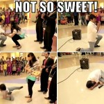 Disastrous Marriage Proposal At Indian Shopping Mall…OMG!