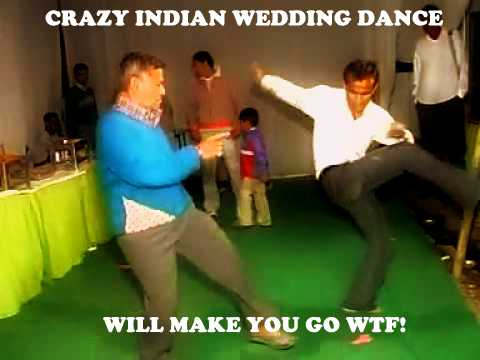 Funny Indian Wedding dance