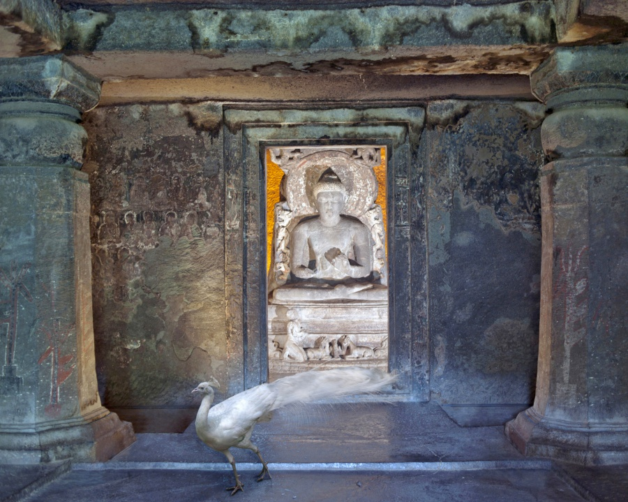 Attaining-Moksha-Ajanta-Caves-Ajanta