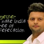 Suresh Raina Also Decided To Take The Pledge Against Open Defecation. Clean Hands Can Help Prevent Disease!
