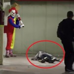 Watch How A Clown Gives Goose Bumps And Not Laughter! Not For Faint-Hearted