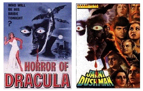 Jaani Dushman inspired by Horror of Dracula