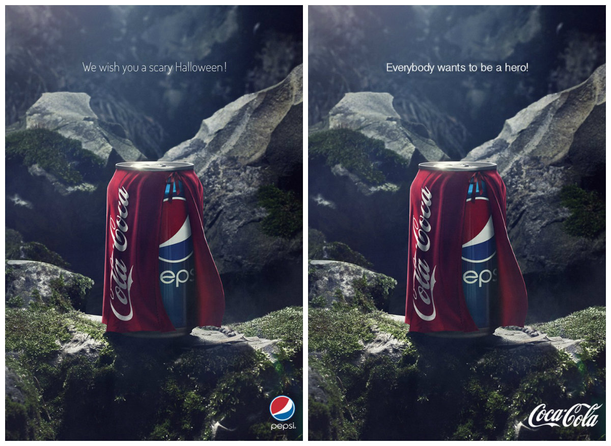 Pepsi Came Up With This Ad To Scare Away Coca Cola This Halloween And Got A Scareworthy Reply In Return