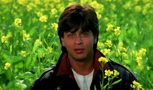 sharukh romantic scene