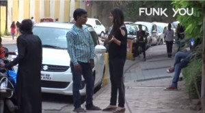 A Girl Approaches Strangers To Ask Them If They Would Like To Be Her Boyfriend. The Reactions People Gave Her Are Priceless.