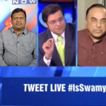 Arnab Goswami Trolled LIVE By Subramanian Swamy. Liar, Stupid, Dumbo, Mentally Retard