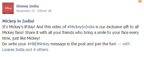 If Ever Mickey Were To Come To India It Would All Be Exactly Like This