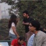 A Girl Gets Slapped By A Guy In Public, Watch How The Public Reacts, Or does It?