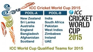 Complete ICC Cricket World Cup 2015 Matches Schedule. Gird Your Loins.