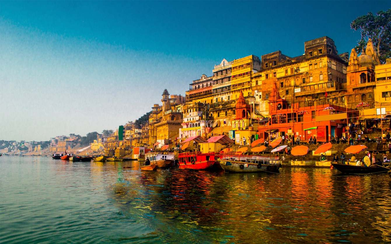 five holy places in india