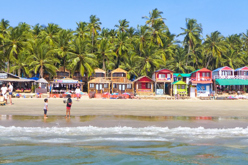 famous beaches in Goa